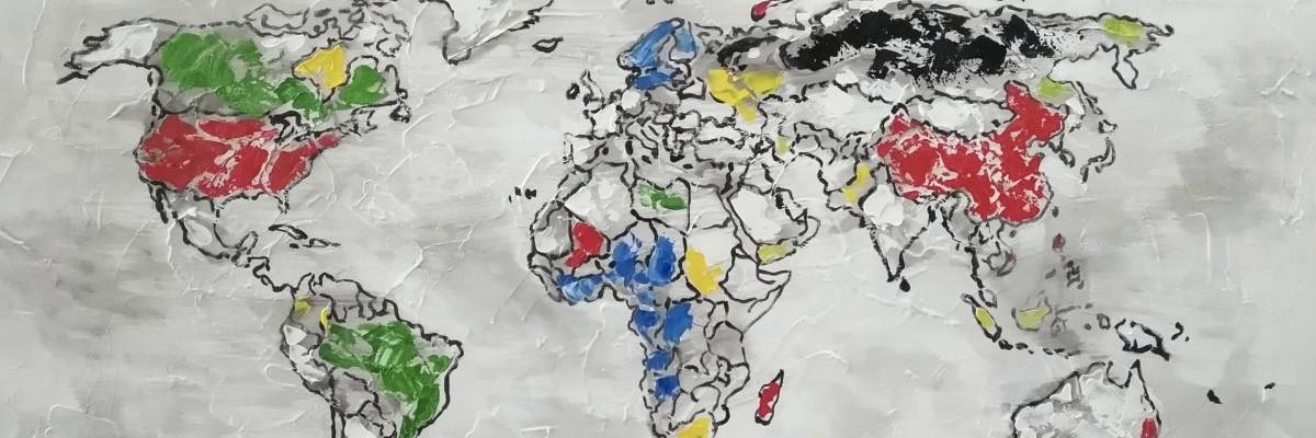 malerier verdenskart
