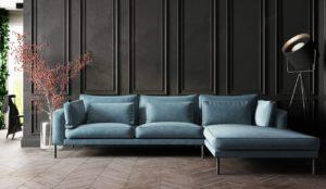Sofa med belysning fra Affordable Design